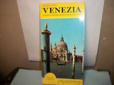Vintage Venezia Illustrated Plan,Guide,Map,1966. with pull-out map in back!
