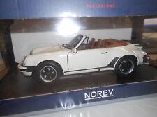 NV187661 by NOREV PORSCHE 911 TURBO CABRIO 1987 1:18