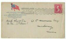 1898 Washington DC Spanish American Patriotic, Army Christian Commission YMCA