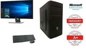 BRAND NEW WINDOWS 10 PRO 64 BITS Intel, DESKTOP PC.