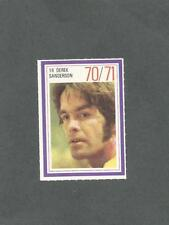1970-71 Esso Hockey Stamp Derek Sanderson Boston Bruins