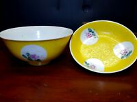 Chinese Qianlong Eggshell Plate/Bowl Enamelled Famille Rose Chien Lung Mark