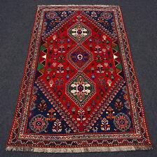 Orient Teppich Dunkelrot 180 x 114 cm Perserteppich Weinrot Carpet Rug Alfombra