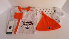 New Edmonton Oilers Newborn One Size Baby Outfit (E30)