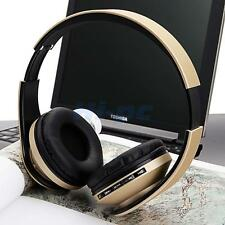 Foldable Wireless Bluetooth Stereo Bass FM Headphones Headset For iPho