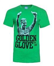 MEDIUM Mens MANCHESTER CITY Joe Hart Cotton T Shirt Football Top Green MAN MCT8
