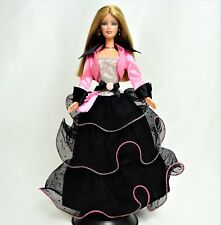 Barbie Fashion Avenue Deluxe Black & Pink Outfit Mint out of Box NO DOLL