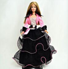 Barbie FASHION AVENUE Deluxe Nero e Rosa Vestito Nuovo di zecca fuori dalla scatola NO BAMBOLA