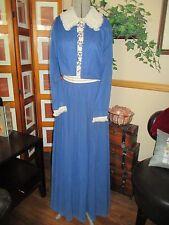 Vintage Jack Bryan DuPuis- Embroidered Mother of Bride Gown Dress w/ Jacket