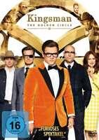 Kingsman - Teil: 2 - The Golden Circle [DVD/NEU/OVP] Taron Egerton, Colin Firth,