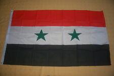 BALKONFLAGGE BALKONFAHNE Syrien Flagge Fahne für den BALKON 90x150cm