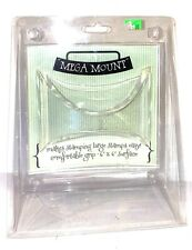 Mega Mount Block Impression Obsession Cover A Card Unmounted Rubber Stamps NEW