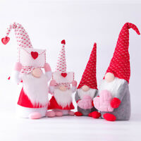 Valentine's Day Tomte Gnome Decorations Swedish Gnome Plush Dolls Handmade Gnome