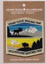 Grand Teton National Park & Yellowstone National Park Souvenir Wyoming Patch
