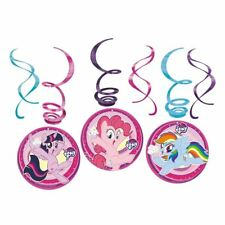 3 My Little Pony Swirl Decorations