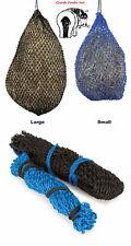 Shires Greedy Feeder Haynet Haylage Hay Net Very Small Mesh Holes Only 1 Inch