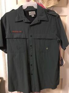 Venturing BSA NEW Uniform Shirt Size Adult Medium FREE SHIPPING