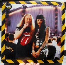 ROLLING STONES - NO SECURITY - LIVE 1998 VIRGIN UK press vinyl LP in SHRINK VG+