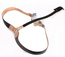 WW2 GERMAN ARMY LEATHER Y STRAP STRAPS Y-STRAPS LOAD BEARING EQUIPMENT -38037