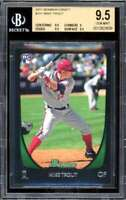 Mike Trout Card 2001 Bowman Draft #101 BGS 9.5 (9.5 9 9.5 9.5)
