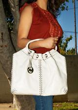 Michael Kors Genuine Leather Handbag Large Tote Satchel Bag Purse
