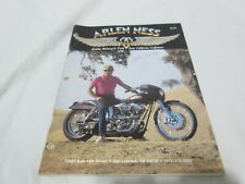 Arlen Ness April 1988 Vintage Motorcycle Parts Catalog Harley California Oop