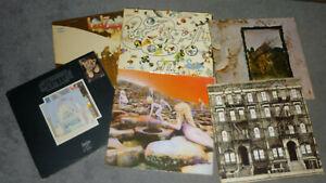 6 x Led Zeppelin - II-III-IV-Physical-Remains-Houses - Sammlung - Konvolut