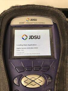 JDSU DSAM-3500 XT Docsis 3.0 Wavetek Series Field Meter Digital Service Analysis