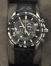 Citizen Eco-Drive Men's AT4010-50E Dress Titanium Perpetual Chrono A-T Watch
