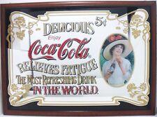 Coca-Cola - MAXI SPECCHIO DIPINTO INCORNICIATO