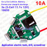 3S 10A Drill Tools 18650 Li-ion Lithium Battery BMS Protection PCB Board 12.6V