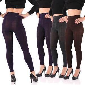 Leggings warme Baumwolle Stick extra dehnfähig Top-Qualität mit Komfortzwickel