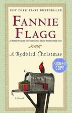 A Redbird Christmas by Fannie Flagg - SIGNED/AUTOGRAPHED - HARDCOVER -BRAND NEW!