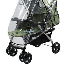 Clear Rain Cover Raincover For Universal Buggy Pushchair Stroller Pram Baby Car
