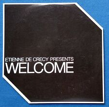 Etienne De Crecy Presents Welcome CD Promo France 5 Mixes Bloody Beetroots 2010