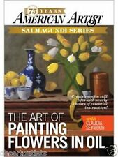 NEW! The Art of Painting Flowers in Oil with Claudia Seymour [DVD]