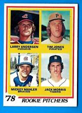 1978 Topps JACK MORRIS (Detroit Tigers)  Rookie Card  (ex-mt) B