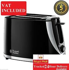 Russell Hobbs 21410 Mode 2 Slice Toaster with Defrost / Reheat Function in Black