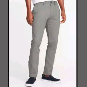 NWT: Old Navy Athletic Ultimate Built in Flex Chinos Khakis sold out (44 x 30)