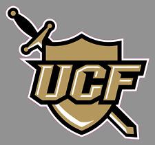 "UCF Knights Shield Logo 6"" Vinyl Decal Bumper Sticker - NCAA College Football"