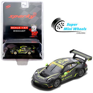 Sparky 1:64 Porsche 911 GT3 R No.912 Absolute Racing FIA GT World Cup Macau 2019
