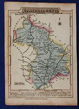 Original antique map, CAMBRIDGESHIRE, ELY, NEWMARKET, William Lewis 1819