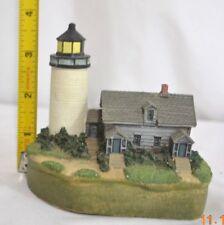 Vintage Spoontiques Lighthouse Replica Charity Island Mi Figurine 9356