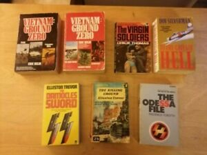 War/Spy Thriller Paperback Book Bundle (7 x Titles) inc. the Odessa File