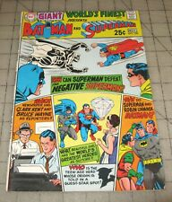 World'S Finest #188 (Nov 1969) Vg+ Condition Comic - G64 Giant Issue