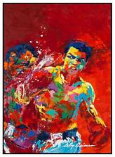 Muhammad Ali   -  LARGE POSTER  -  Foreman POP ART PRINT Rumble in Jungle BOXING