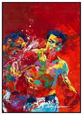 Muhammad Ali   -  LARGE POSTER  -  Foreman POP ART PRINT Rumble in Jungle BOXING