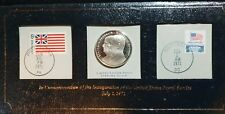1971 Commemoration Of The U.S. Postal Service Sterling Silver Medal