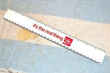 COKE COCA-COLA FREEBIE GIVEAWAY ADVERTISING RULER RULE 12 inch