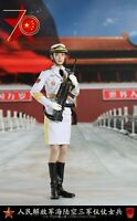 """1/6 Scale Last Toy LT005 Female PLA Navy  Guard of Honor 12"""" Figure Doll Toy"""